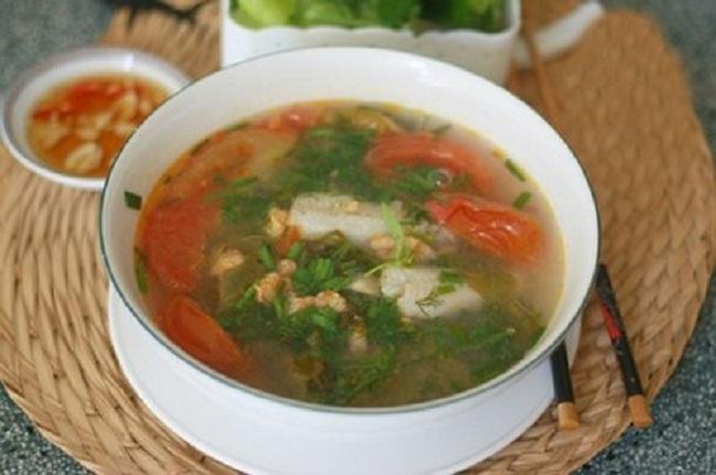 Đặc sản Quảng Bình - Canh chua cá khoai